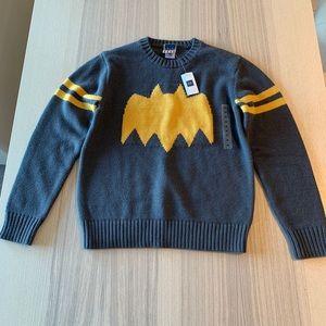 Brand New Gap Junk Food Batman Sweater Kids M